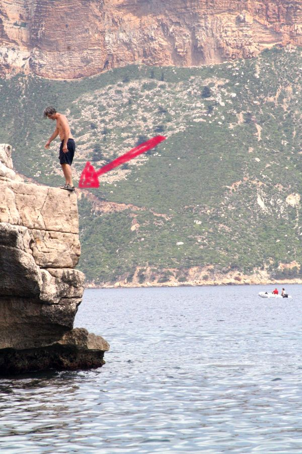 French la Vie - Jump off a Cliff: Would you do it?