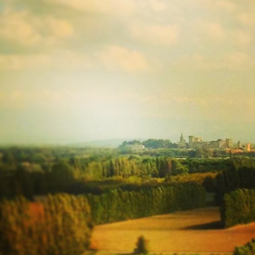 Avignon from the train, French la Vie, Corey Amaro