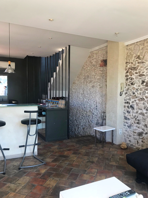 Renovation: Gary and Ching's home in Cassis