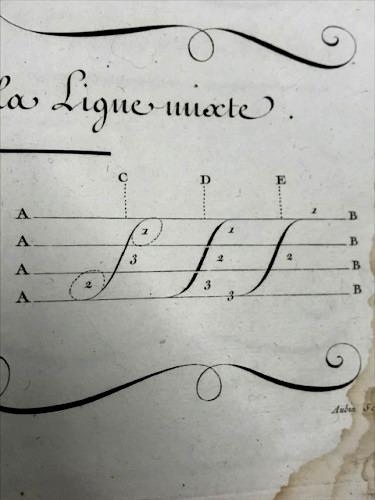 calligraphy louis Rossignol