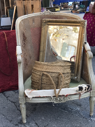 French la vie, brocante, Provence