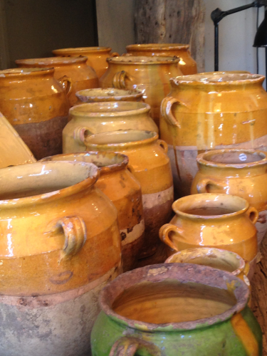 pottery in Provence