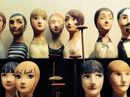 Manniquin heads