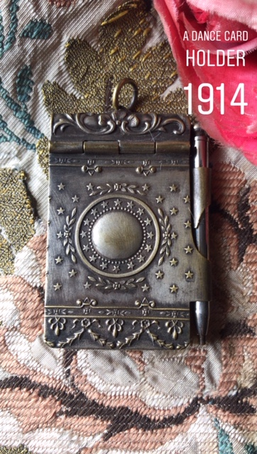 dance card holder-1914