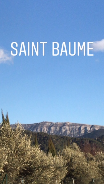 saint baume provence spring