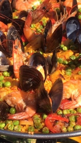 lunch paella