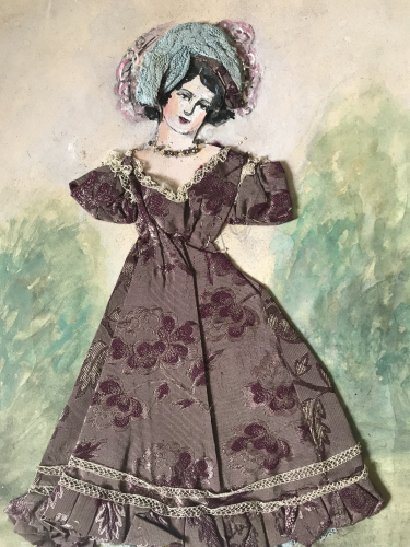 Fashion design examples from the late 1800s