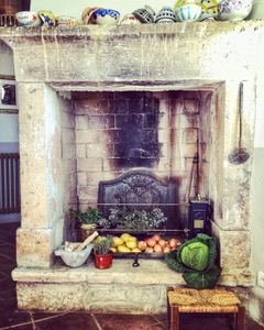 Arnelle decor #6 Kitchen Fireplace