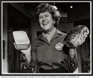 Julia childs making bread