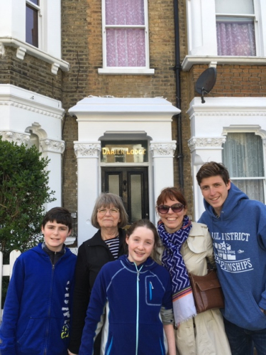 heather's family in london