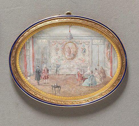 Ecole italienne du XVIII e siècle