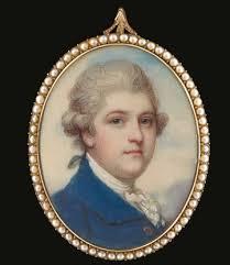 Portrait miniature homme