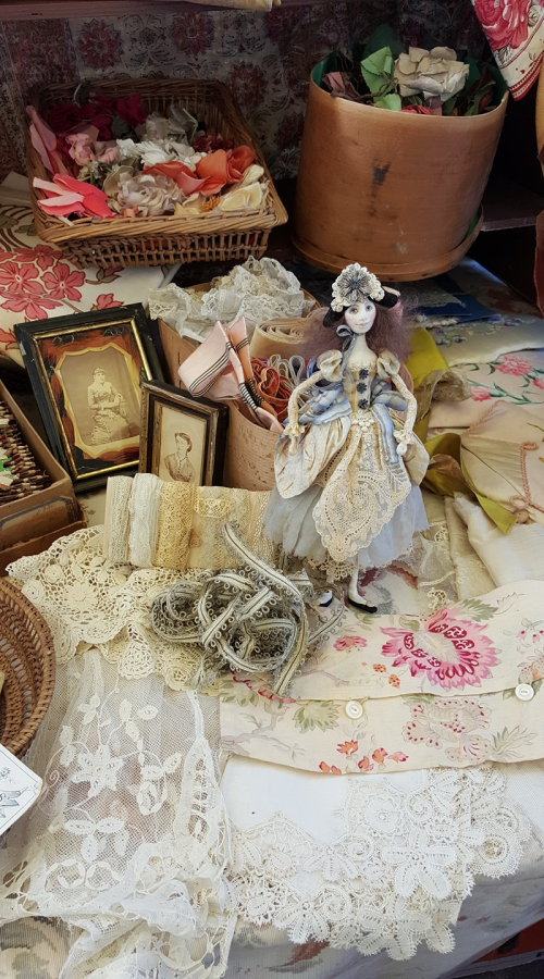 Barbara Willis French brocante finds with the French la Vie