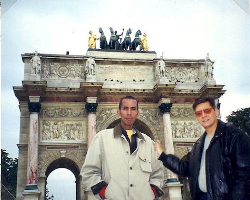 Alan in Paris
