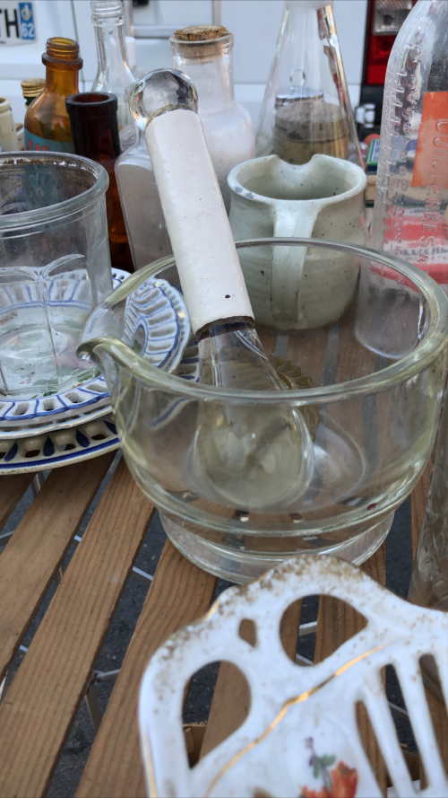 Unexpected delights at the brocante
