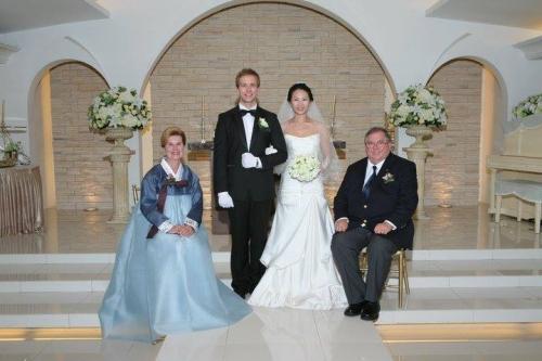 Jeanne's son's wedding photo