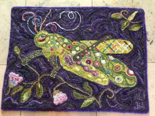 Judy's hook rug 2
