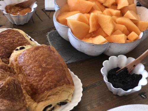 Fresh French breakfast
