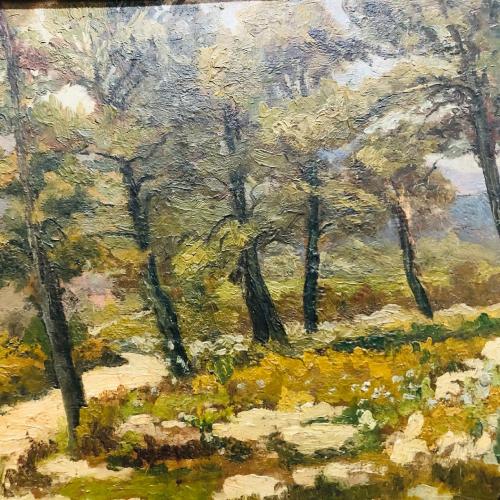 Art at the Brocante French la Vie