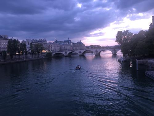 Paris after sunset