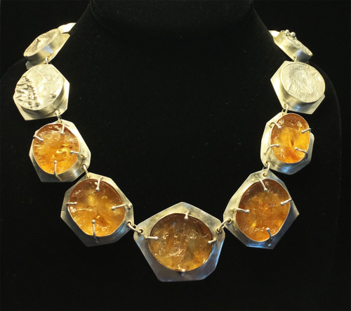 Citrine necklace display copy 2