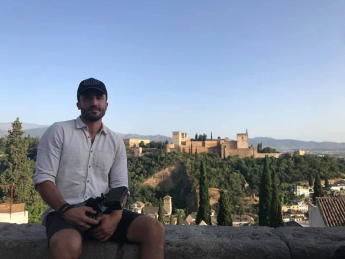 Sacha in Spain