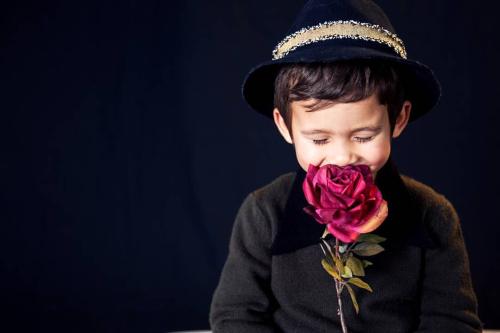 Jeanne's grandson rose