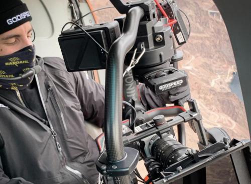 Sacha Rolland-Benis Godspeed Filming