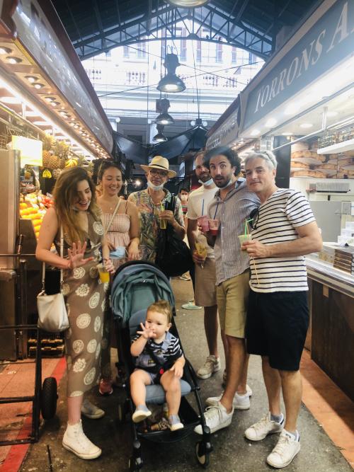 Family Time in Barcelona