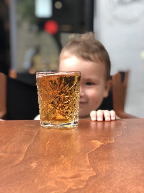 Drinking From a Tall Glass